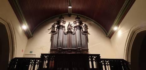 Oekene kerk orgel